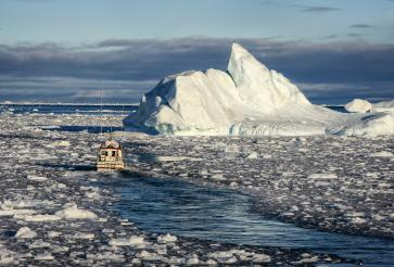 Icefjord by Boat